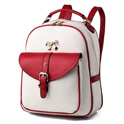 6306 Fashion Backpack (Red)