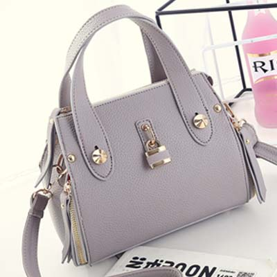 6318 Elegant Handbag (Grey)