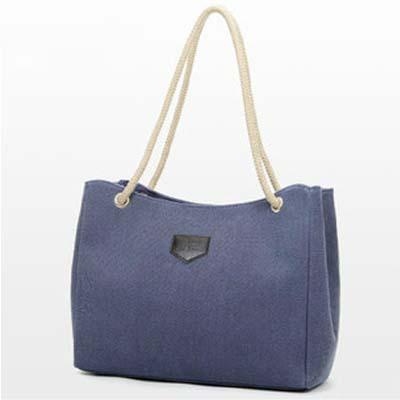 6325 Canvas Handbag (Blue)