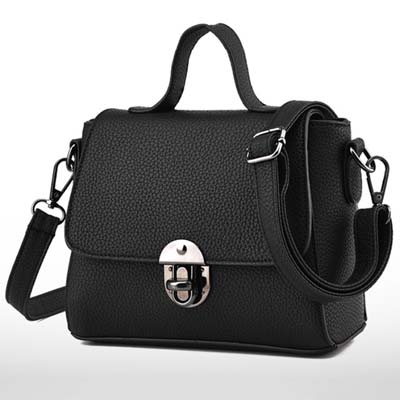 6356 Cute Handbag (Black)