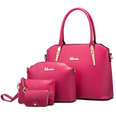 6365 Elegant 4 in 1 Bag (Rose)