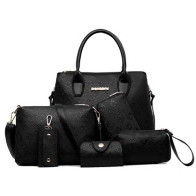 6398 6 in 1 Bag (Black)