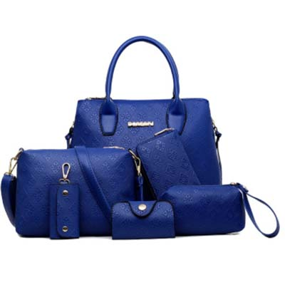 6398 6 in 1 Bag (Blue)