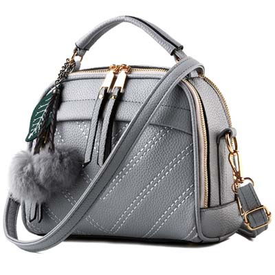 6419 Elegant Handbag (Grey)