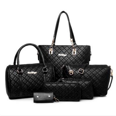 6434 Premium 6 in 1 Bag (Black)