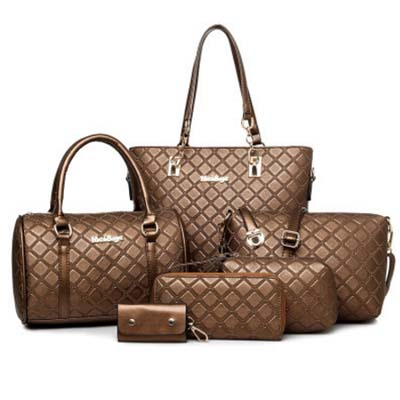 6434 Premium 6 in 1 Bag (Brown)