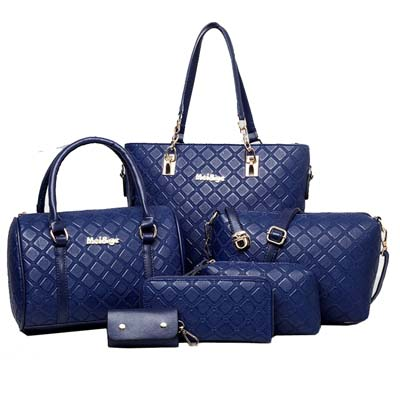6434 Premium 6 in 1 Bag (Dark Blue)