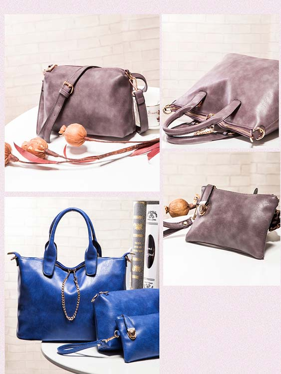 6455 Elegant 3 in 1 Bag (Blue)