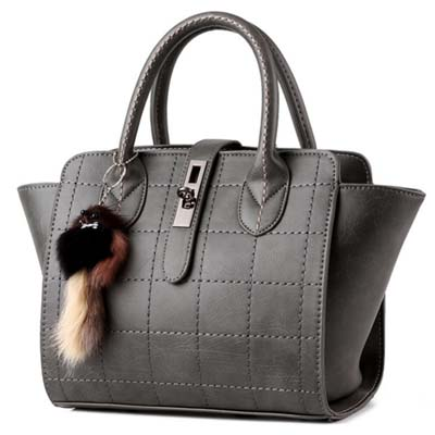 6458 Elegant Handbag (Grey)