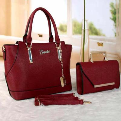 6481 BN 2 in 1 Bag (Maroon)