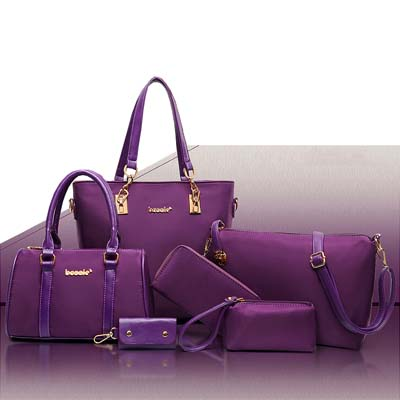 6507 6 in 1 Waterproof Bag (Purple)