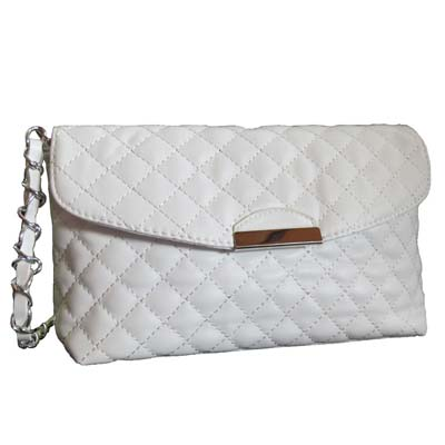 6517 Elegant Sling Bag (White)