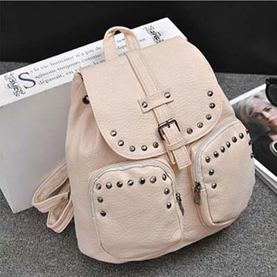 6528 Backpack (Beige)