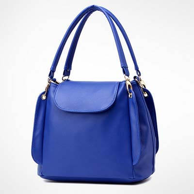 6531 Fashion Multi Layer Handbag (Blue)