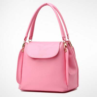 6531 Fashion Multi Layer Handbag (Pink)