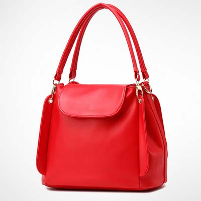 6531 Fashion Multi Layer Handbag (Red)