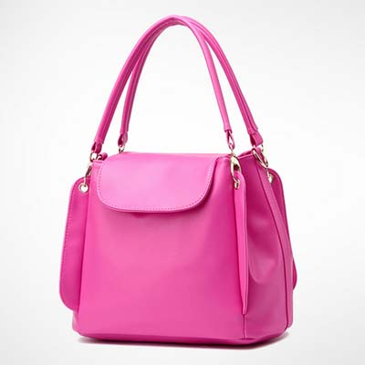 6531 Fashion Multi Layer Handbag (Rose)