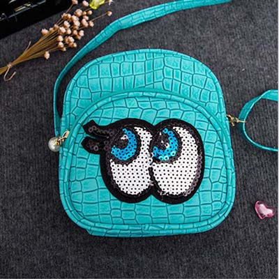 6544 Playnomore Popular Sling Bag (Cyan)