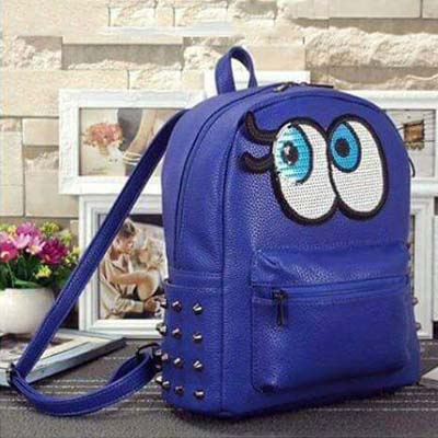 6563 Playnomore Popular Backpack (Blue)