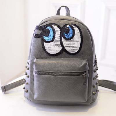 6563 Playnomore Popular Backpack (Grey)