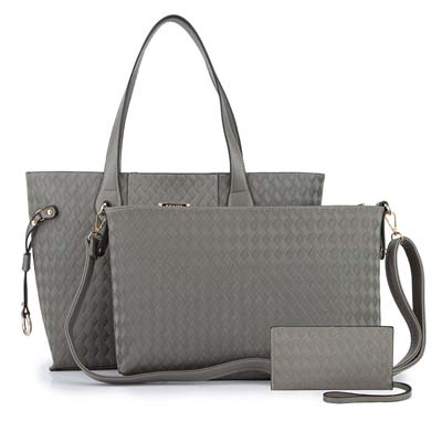 YYB6780 Fashion 3 in 1 Bag (Grey)