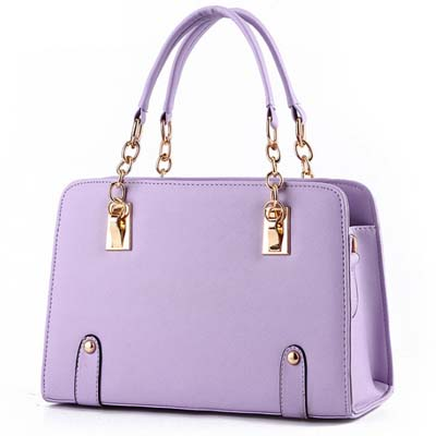 YoYOo Fashion Elegant OL Handbag (Purple)