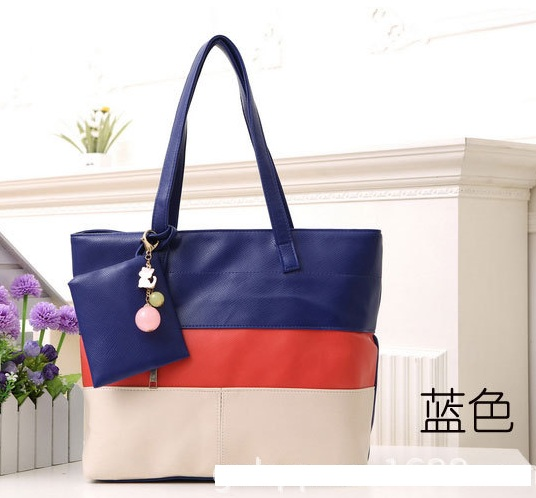 YoYOo STYLE 3 TONE SHOULDER BAG