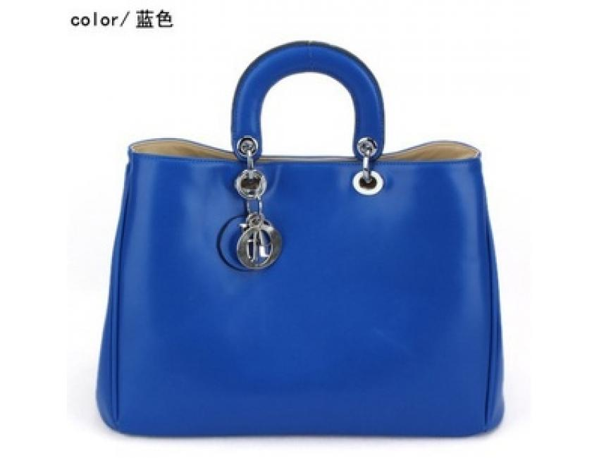 e5ed209351 0799 YoYOo ELEGANT HOLLYWOOD BAG (BLUE)