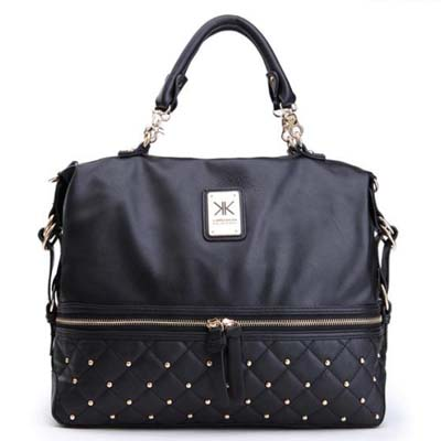KK6864 Fashion KK Bag (Black)