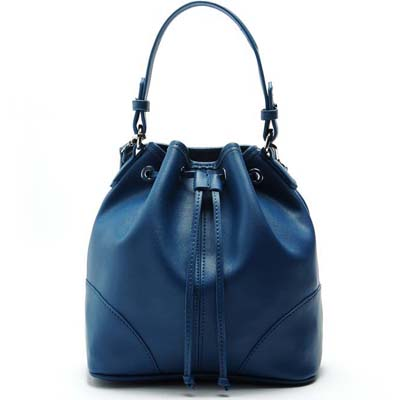 MNG6699 Fashion Bucket Bag (Dark Blue)