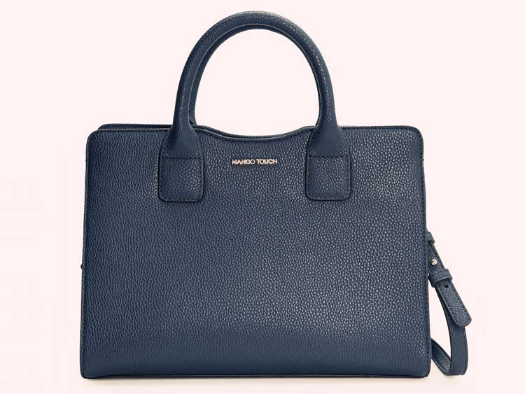 MNG6707 Elegant Handbag (Dark Blue)