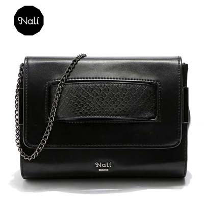 6687 Nali Ori Sling Bag (Black)