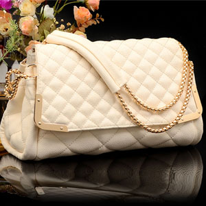 1679 YoYOo Fashion Elegant Sling Bag (Beige)