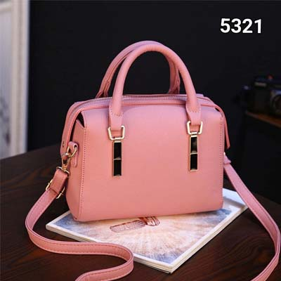 5321 Simple Slingbag (Pink)