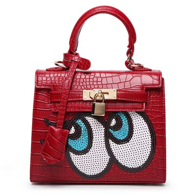 6596 Playnomore Popular Handbag (Maroon)