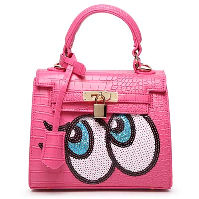 6596 Playnomore Popular Handbag (Rose)