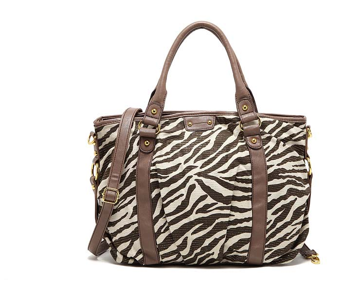 6624 Two Side 3 in 1 Handbag (Brown)