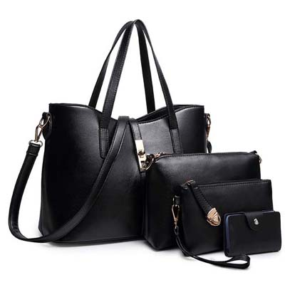 6683 Elegant 4 in 1 Bag (Black)
