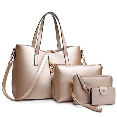 6683 Elegant 4 in 1 Bag (Gold)