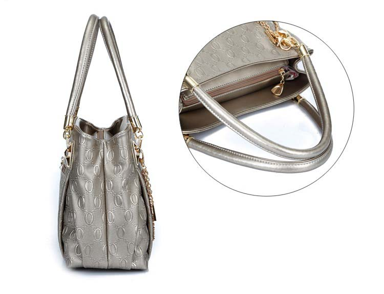6684 Elegant 4 in 1 Handbag (Gold)