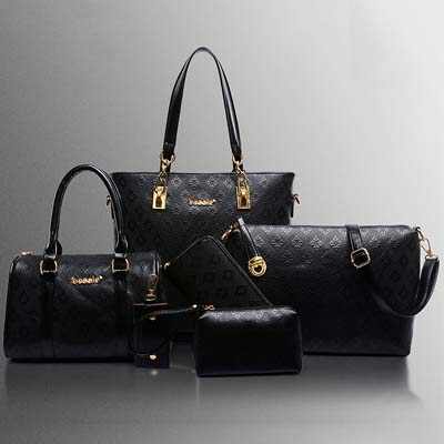 YYB6686 6 in 1 Bag (Black)