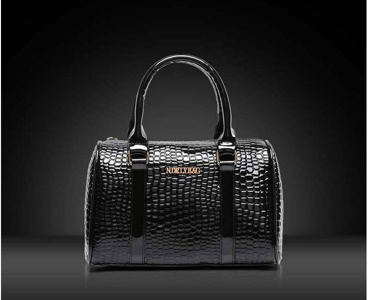 6717 6 in 1 Crocodile Skin Bag (Rose)