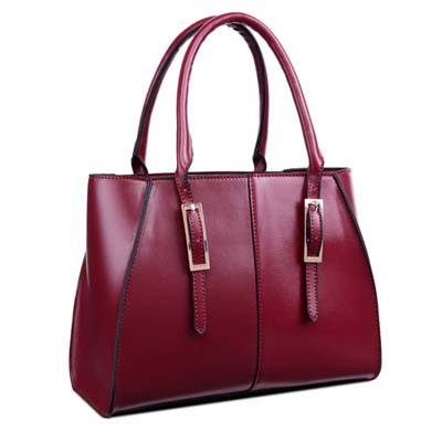 Fashion OL Handbag (Maroon)