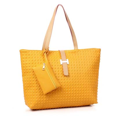 6827-Fashion 2 in 1 Bag (Yellow)