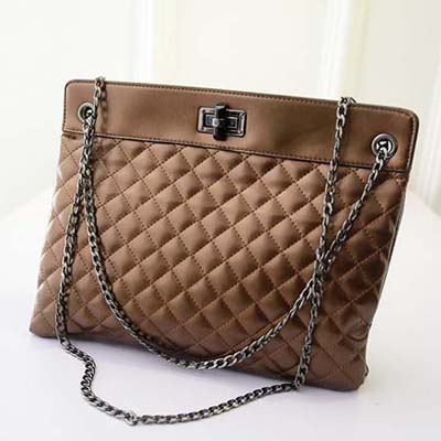 6834 Elegant Shoulder Bag (Brown)