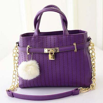 Elegant Handbag (Purple)