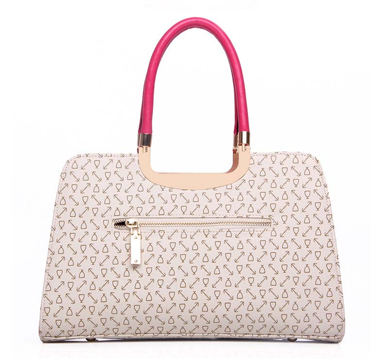 6840 Elegant 3 in 1 Handbag (Beige)