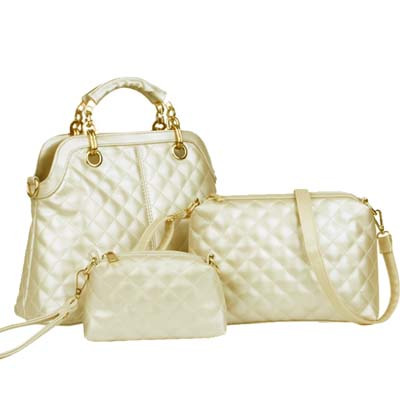 Fashion 3 in 1 bag (Gold)