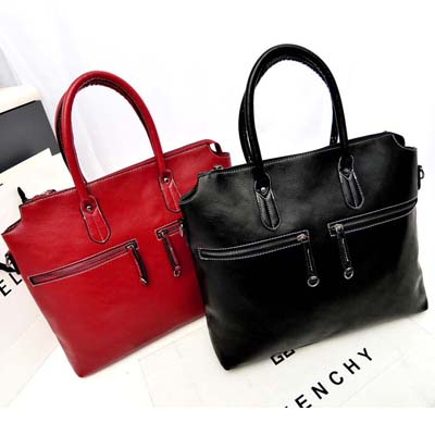Double Zip Handbag
