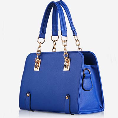 YoYOo Fashion Elegant OL Handbag (Blue)